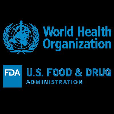 who-fda-logo